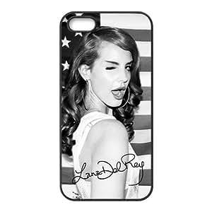 Customiz American Famous Singer Lana Del Rey Back Case for iphone 5 5S JN5S-2487
