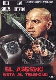El asesino está al teléfono DVD 1972 L'assassino... è al telefono