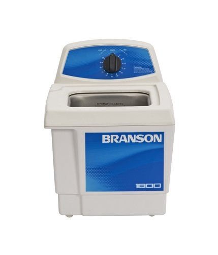 Branson CPX-952-116R Series M Mechanical Cleaning Bath with Mechanical Timer, 0.5 Gallons Capacity, 120V by Branson Ultrasonics