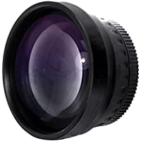 2.0x Telephoto Conversion Lens (46mm) (Stronger Option For JVC GL-V1846U)