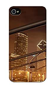 Iphone 5/5s Case - Tpu Case Protective For Iphone 5/5s- Chicago At Night Case For Thanksgiving's Gift