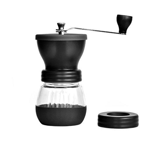 Premium Filter Coffee Maker With Grinder : Manual Coffee Grinder, Coofun Premium Ceramic Burr Manual Coffee Grinder Coffee Maker, Large ...