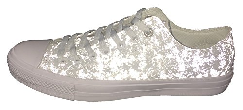 Argenté mixte mode Blanc Ctas Hi Baskets Core Converse adulte nHq06USx