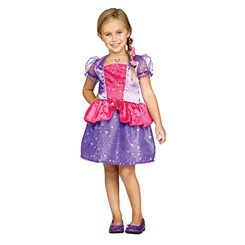Fun World Toddler Fairy Tale Princess Costume size XL 4-6