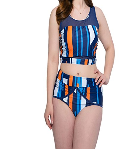 26717c6e2e98d Amazon.com  Freezing Fashion Bikini Size Plus Fertilizer mesh Yarn Skirt  2018 Split Swimsuit Female hot Spring Big Breast Sexy  Clothing