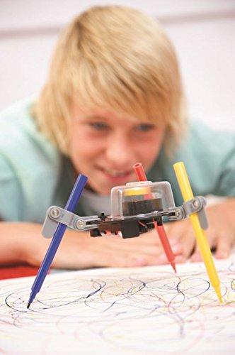 41xFePQFNoL - 4M Kidzrobotix Doodling Robot - DIY Science Engineering Robotics Kit - STEM Toys Gift for Kids & Teens, Boys & Girls (Packaging May Vary)