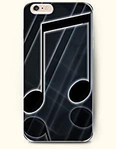 OOFIT iPhone 6 Case ( 4.7 Inches ) - Black Music Note