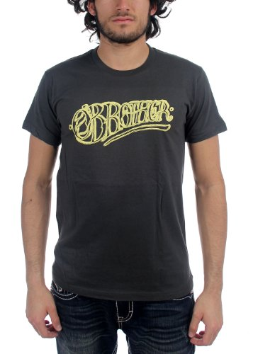 O'Brother - Mens Logo Tee T-Shirt In Charcoal, Small, Charcoal