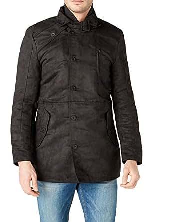 LOFT Erkek Palto, Black, XL