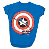 Marvel Captain America/Shield Tee-MED, My Pet Supplies