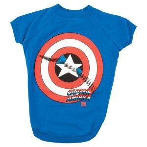 Marvel Captain America/Shield Tee-LG, My Pet Supplies