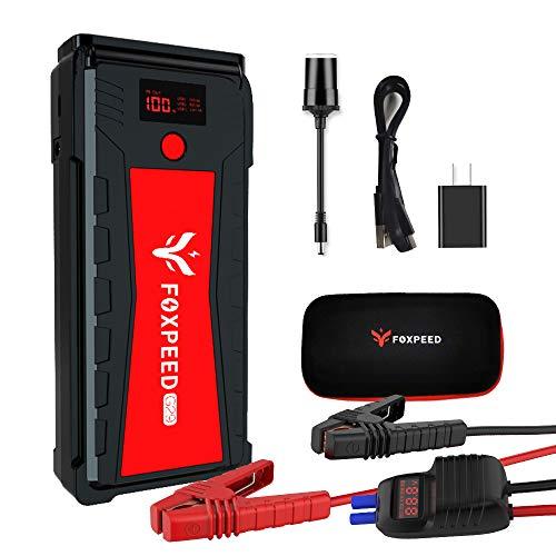 FOXPEED 2500A Car Battery Starter, 21000mAh Portable Auto Jump Starter