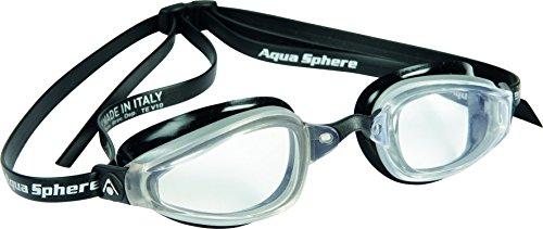 Aqua Sphere K180 - Gafas de natación (transparentes) negro negro