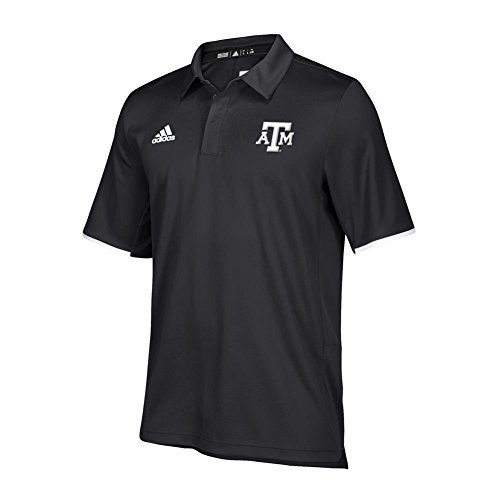 - adidas Texas A&M Aggies Men's Polo Climalite Short Sleeve (X-Large)