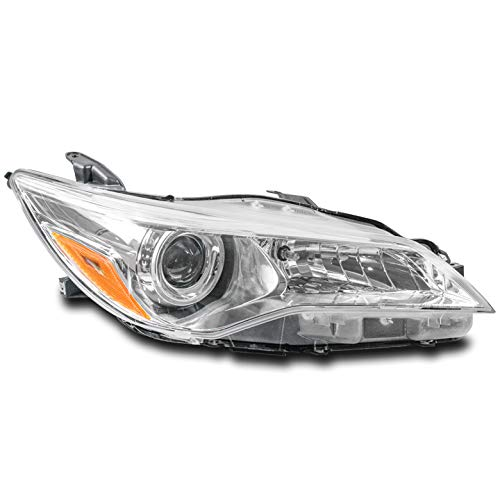 ZMAUTOPARTS Projector Headlight Headlamp Lamp Passenger Side For 2015-2017 Toyota Camry ()