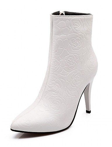XZZ/ Damen-High Heels-Hochzeit / Büro / Kleid / Lässig / Party & Festivität-Kunststoff / Lackleder / Kunstleder-Stöckelabsatz-Absätze / black-us11.5 / eu43 / uk9.5 / cn45