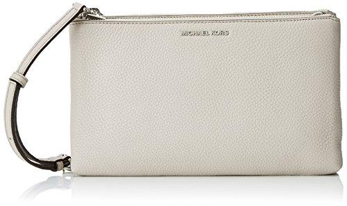 Michael Michael Kors Adele Leather Crossbody, Grey
