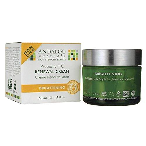 Andalou Naturals Face Crm Probiotic C Renewl