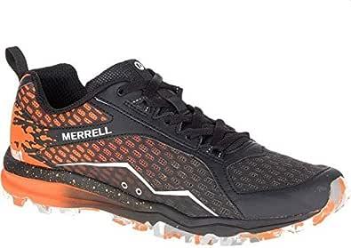 Merrel Running Shoe for Men, Black and Orange, J37401