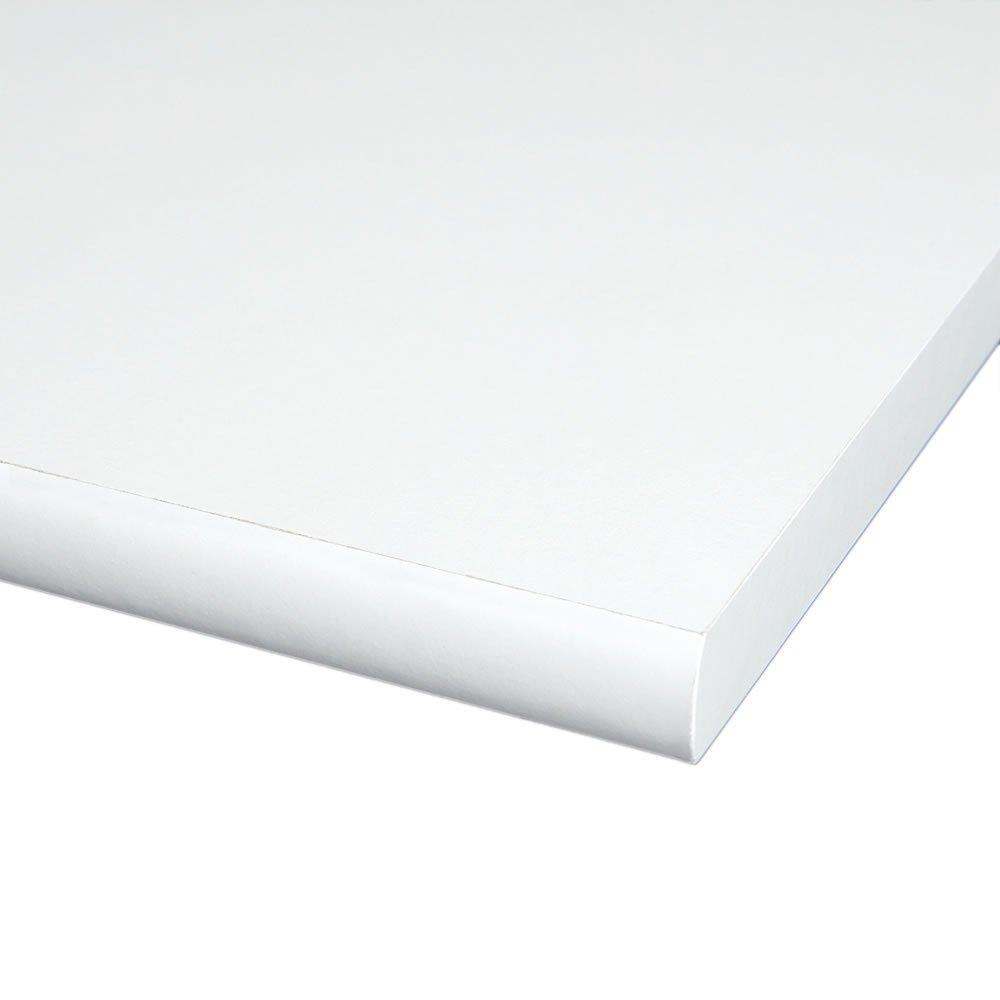 4 Seiten umleimt M/öbelbauplatte Regalbrett Wei/ß 800 x 400 x 19 mm