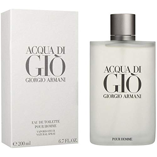By Gio Acqua Armani For Giorgio Men Di - Giorgio Armani Men's Acqua Di Gio Eau de Toilette Spray, 6.7 fl. oz.