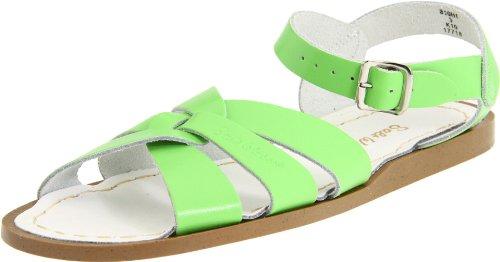 (Salt Water Sandals by Hoy Shoe Original Sandal (Toddler/Little Kid/Big Kid/Women's), Lime Green, 11 M US Little Kid)