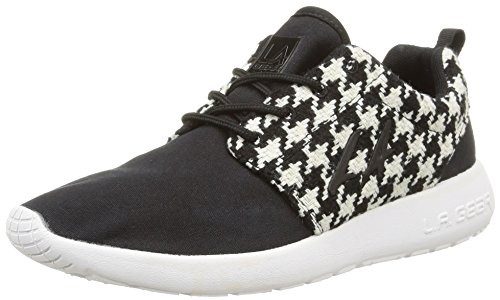 12 White LA 3614 Black Schwarz Black Noir Sunrise Sneaker Damen Gear qwagaSvI