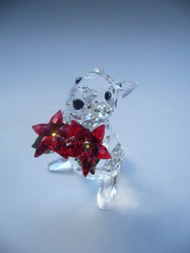 SWAROVSKI 1133620 Rabbit with Poinsettia