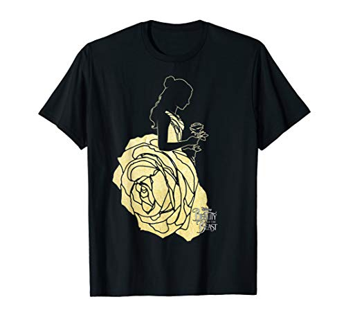 Disney Beauty & The Beast Belle Golden Dress Graphic T-Shirt