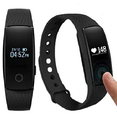Heart Rate Monitor,Fitness Tracker Pedometers Sleep Monitor Activity Tracker for Android IOS Smartphone Bluetooth 4.0