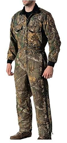 Walls Men's Camo Insulated Coverall, Realtree Edge, Large Short ()