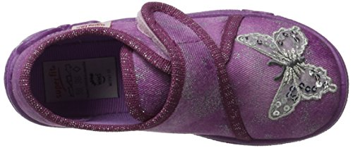 Superfit  Belinda, Sneakers Basses fille - violet - Violett (Berry KOMBI),