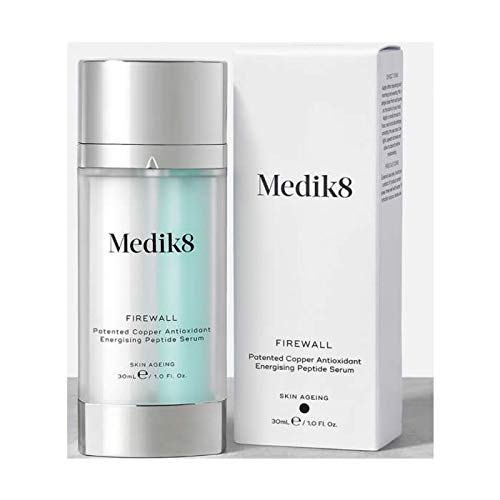 (Medik8 Firewall Patented Copper Antioxidant Energising Peptide Serum 30ml)