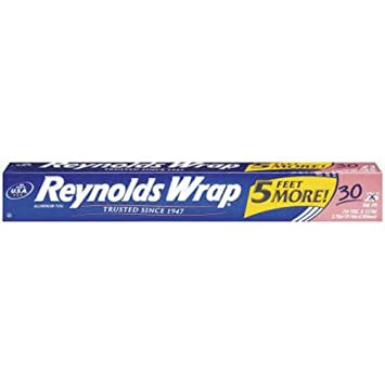 Reynolds Wrap Aluminum Foil (30 Square Foot Roll) by Reynolds