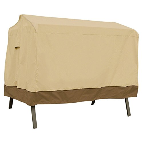 Classic Accessories Veranda Canopy Swing Cover – Pebble