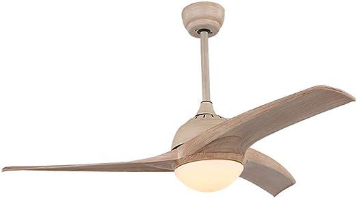 Moderno Ventilador de techo 52 pulgadas LED Bajo techo Abanico ...