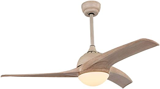Moderno Ventilador de techo 52 pulgadas LED Bajo techo Abanico Araña de luces Con mando a distancia Tricolor ...