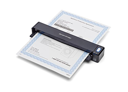 - Fujitsu ScanSnap iX100 Wireless Mobile Scanner for Mac and PC