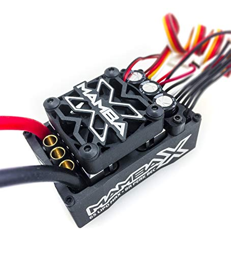 Castle Creations Mamba X Sensored 25.2V WP ESC 8A Peak Bec Data Logging Combo
