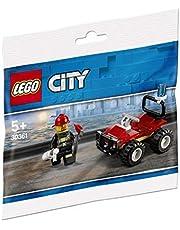 Lego 30361 Zestaw Klocków Straż Pożarna, Kolorowe