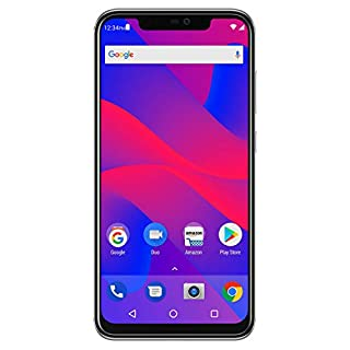 "BLU VIVO XI+ - 6.2"" Full HD+ Display Smartphone, 128GB+6GB RAM, AI Dual Cameras -Silver"