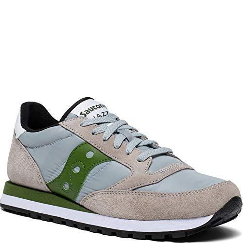 Jazz O' 2044 Grey In Saucony Camoscio green Sneakers HwtPWqZ