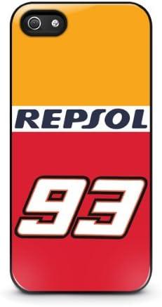 Coque iPhone 5/5s - Marc Marquez MotoGP Honda Repsol 93 iPhone 5 ...
