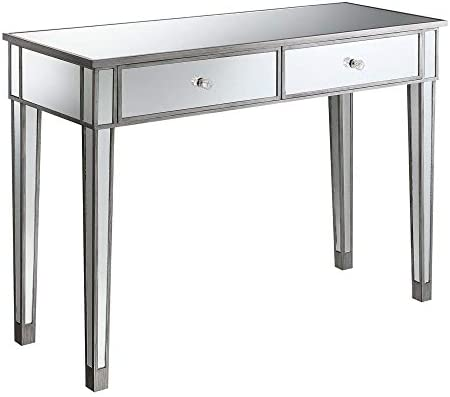 Convenience Concepts Gold Coast Mirrored Desk Review