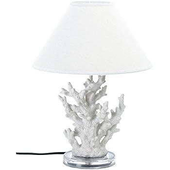 KOEHLER 10015678 Coral Table Lamp, White