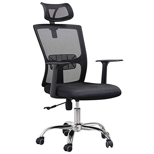 Yaheetech High Back Mesh Office Chair Ergonomic Mesh Computer Desk Task Chair