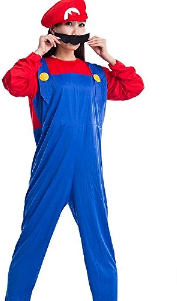 Mario Bros Luigi disfraz de Halloween para niños de edad de ...