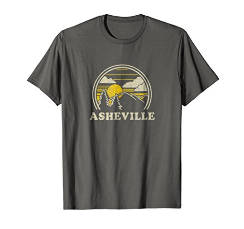 Asheville Nc - Asheville North Carolina NC T Shirt Vintage Hiking Mountains