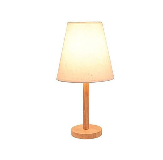 ▷ / lámpara de mesa, Nordic Wood art Lámpara de escritorio ...