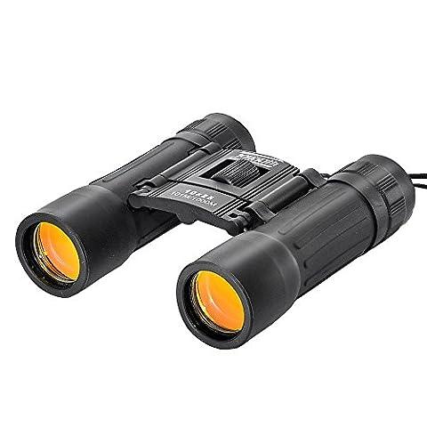 JOYOUTH 10X25 Mini Folding Adjustable Binoculars for Birdwatching, Concerts, Sport and Travel (black) (Folding Binoculars Kids)